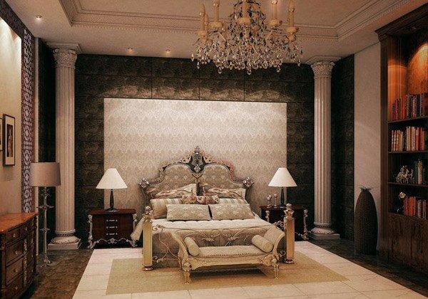 غرف نوم كلاسيك فخمة