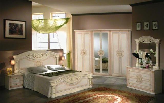 تصميم غرف نوم كلاسيك