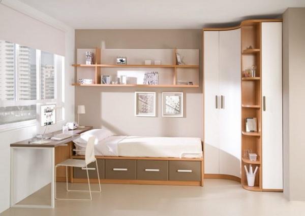 غرف نوم شباب خشب