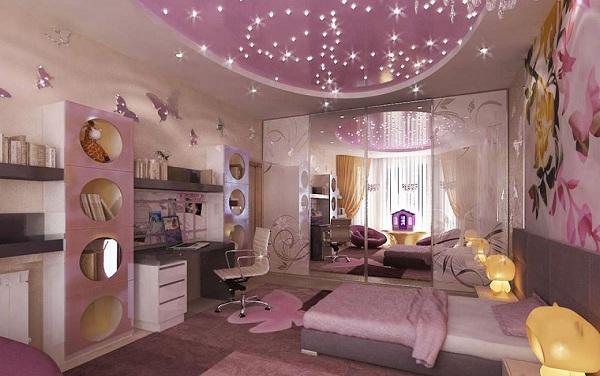 غرف نوم بنات كبار 2020