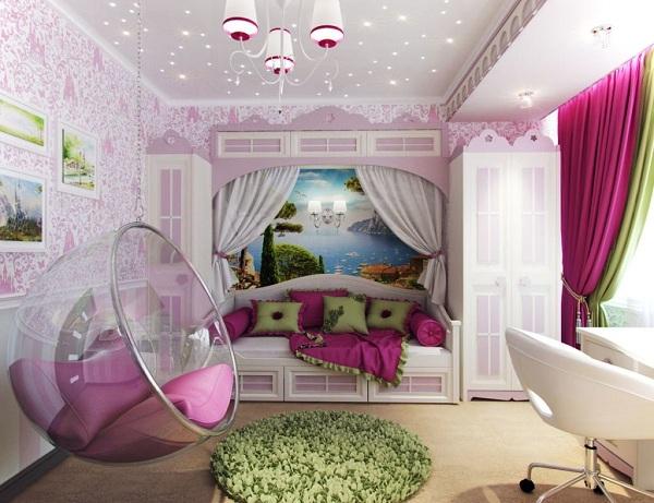 أفكار غرف نوم بنات كبار 2020