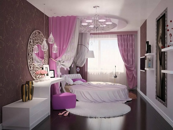 ديكور غرف نوم بنات كبار 2020