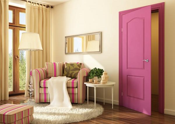 ألوان أبواب خشب داخلية