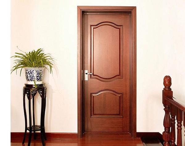 أبواب غرف خشب (4)