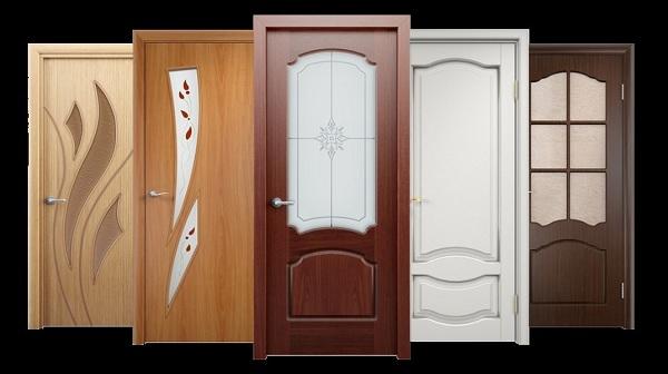ألوان أبواب خشب