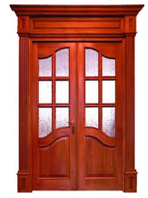 ألوان أبواب خشب خارجية