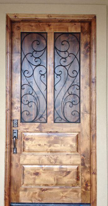 ألوان أبواب خشب خارجية (3)