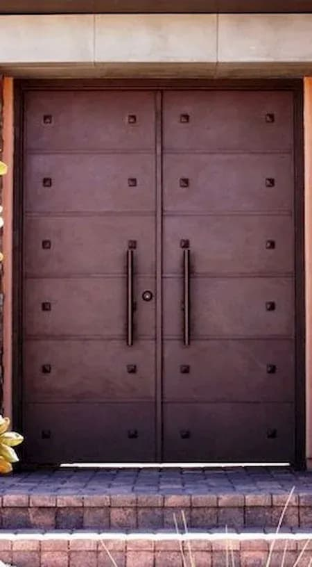 أبواب حديد خارجية فخمة