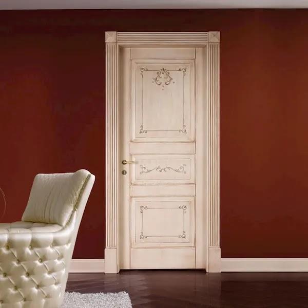 اشكال أبواب خشب داخلية