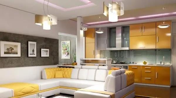 تصميم مطبخ امريكي (3)
