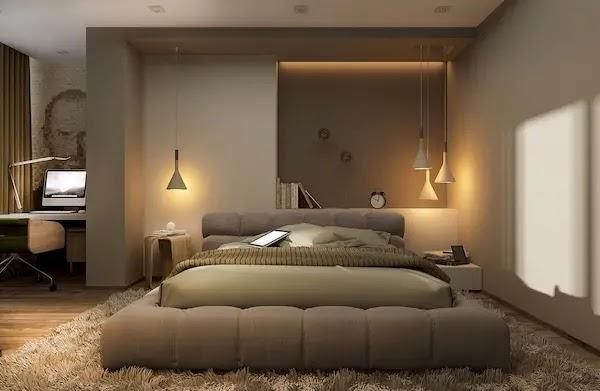 صور غرف نوم مودرن امريكي