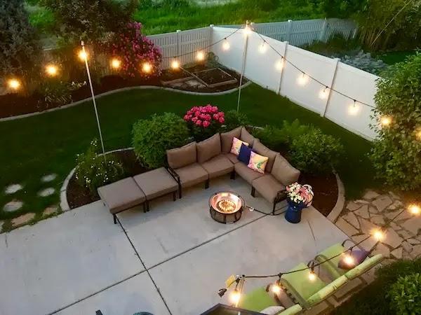 حديقة منزلية صغيرة