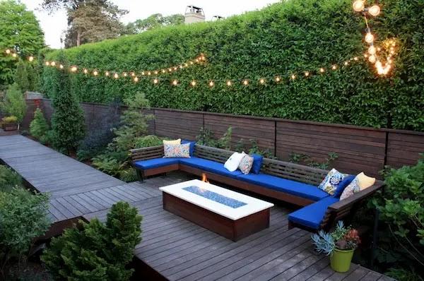 اضاءات الحدائق المنزلية