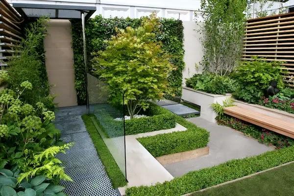 حدائق منزلية صغيرة خارجيه