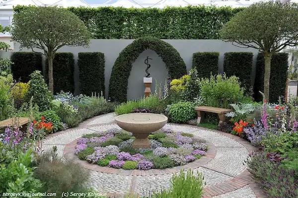 الحديقة المنزلية الصغيرة