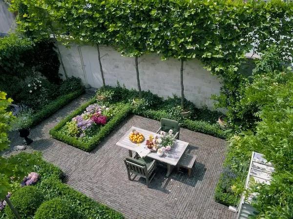 الحدائق المنزلية الصغيرة