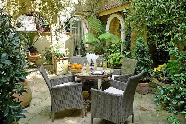 اجمل تنسيق حدائق منزليه