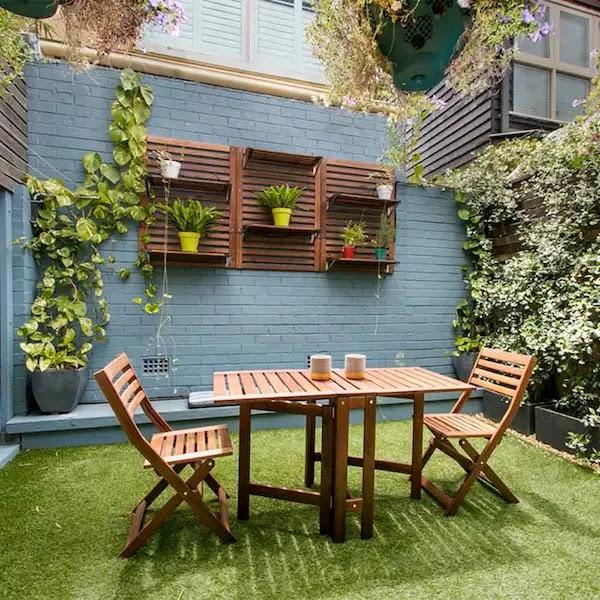 ديكور حديقة منزلية