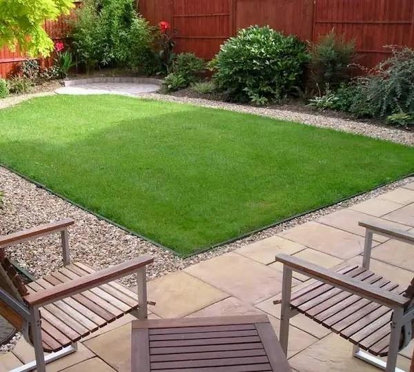 أجمل الحدائق المنزلية البسيطة