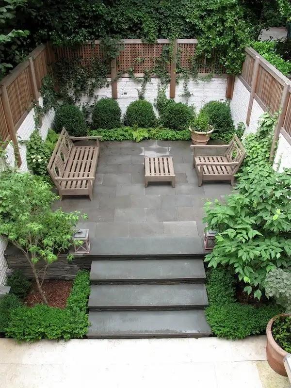 تنسيق حدائق منزلية صغيرة بالصور
