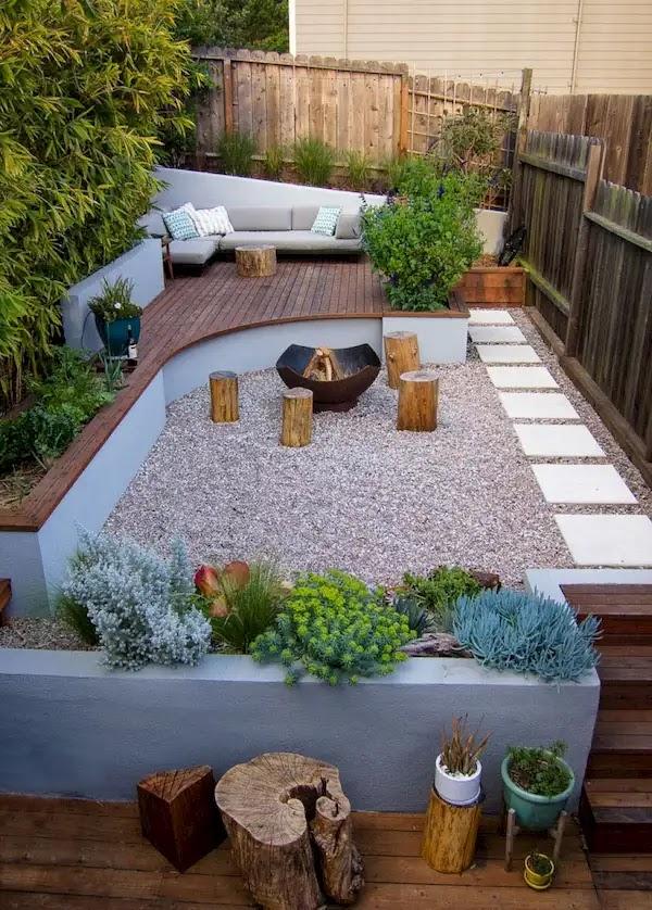 اشكال الحدائق المنزلية الصغيرة