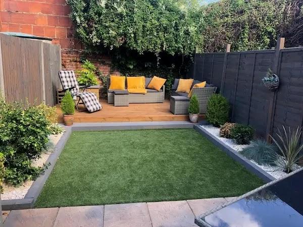 تنسيق الحدائق المنزلية الصغيرة