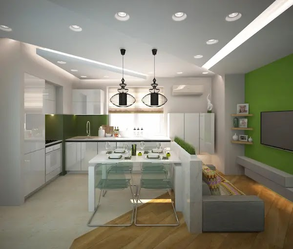ديكور سقف مطبخ مودرن
