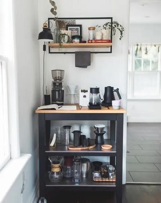 كيف اسوي ركن قهوة بسيط