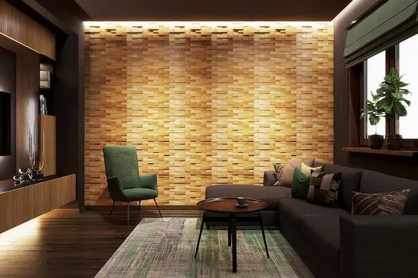 تلبيس خشب للجدران
