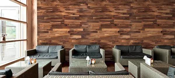 تلبيس خشب على الجدران