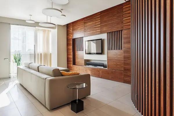 ديكور جداري خشب