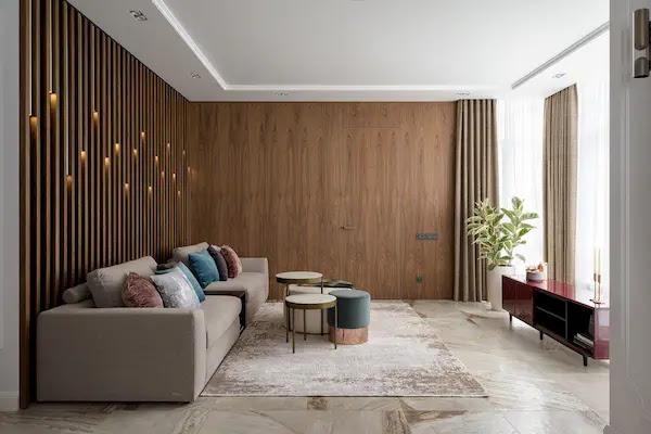 ديكور خشب للجدار