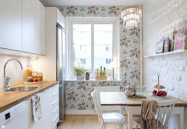 ورق جدران على سيراميك المطبخ