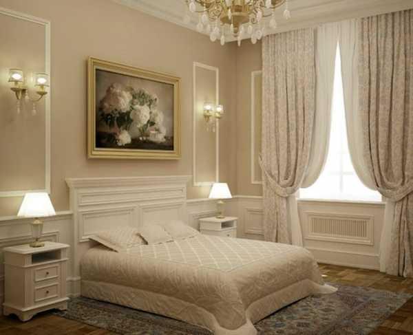 ألوان دهانات غرف نوم بيج رومانسيه (2)