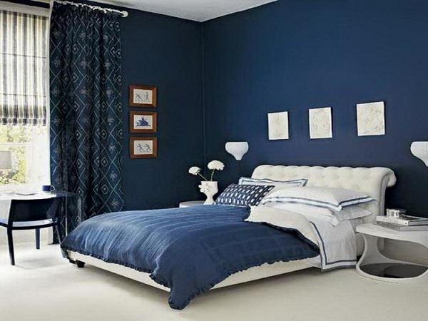 ألوان دهانات غرف نوم رومانسيه (2)