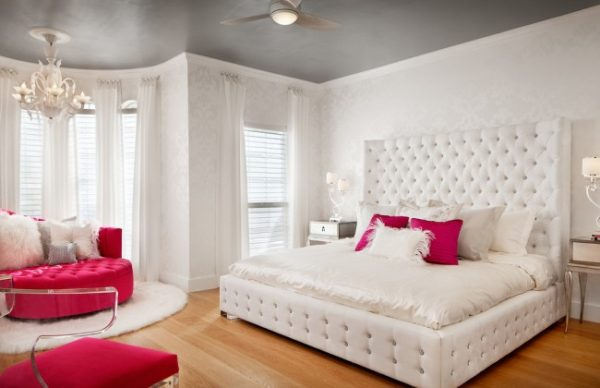 ألوان دهانات غرف نوم رومانسيه (3)
