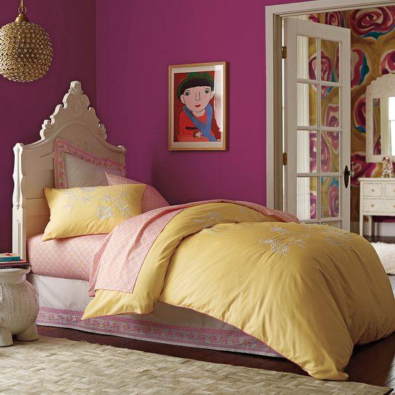 تصاميم غرف نوم بنات