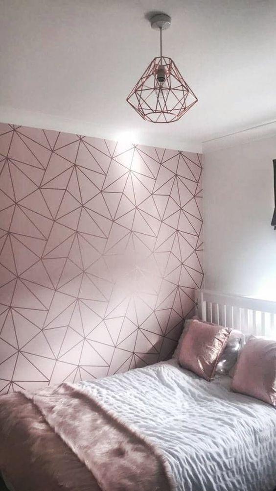ديكورات ورق حائط غرف بنات