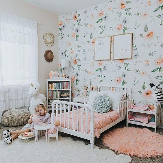 ورق حائط غرف بنات