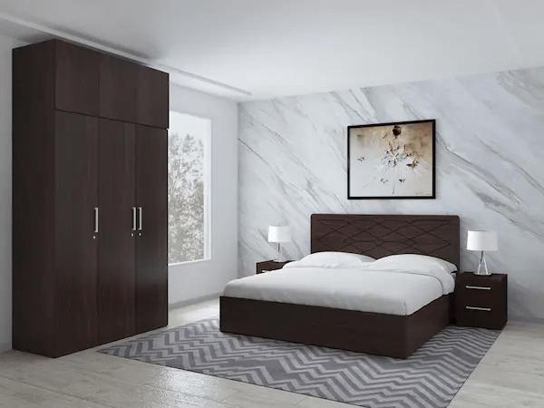 غرفة نوم بسيطة