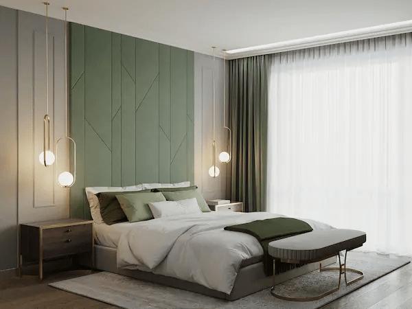ديكورات غرف النوم بسيطة 2021