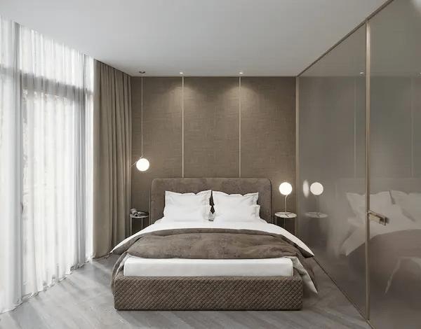 غرفة نوم بسيطة 2021