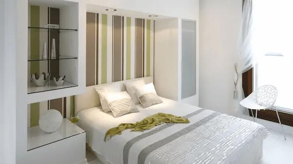 غرف نوم بسيطة 2020