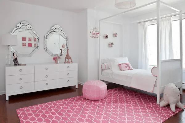 ديكورات غرف نوم بسيطة للبنات