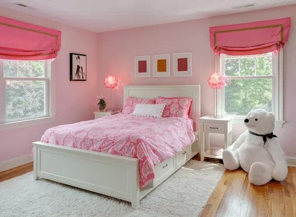 ديكورات غرف نوم بنات بسيطة