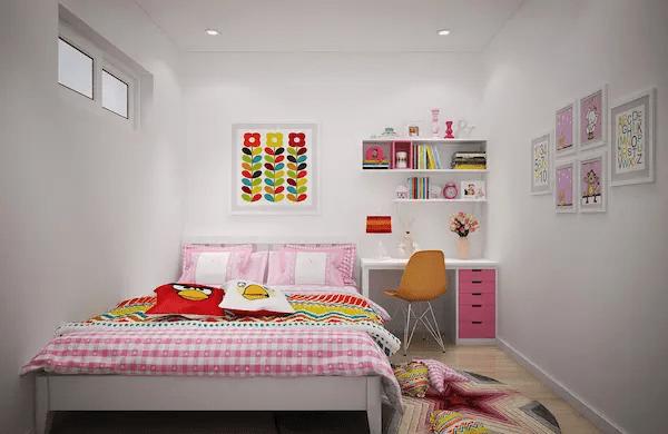 ديكورات غرف نوم بنات كبار بسيطة