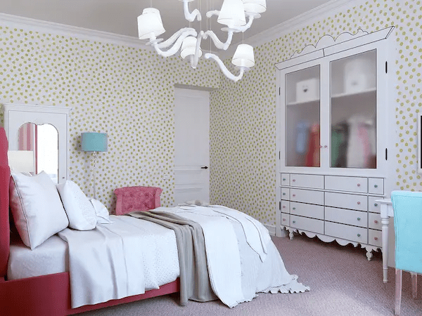 غرف نوم بنات بسيطة 2020