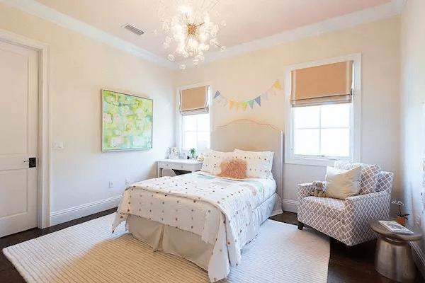 ديكورات غرف نوم بسيطة للبنات 2021