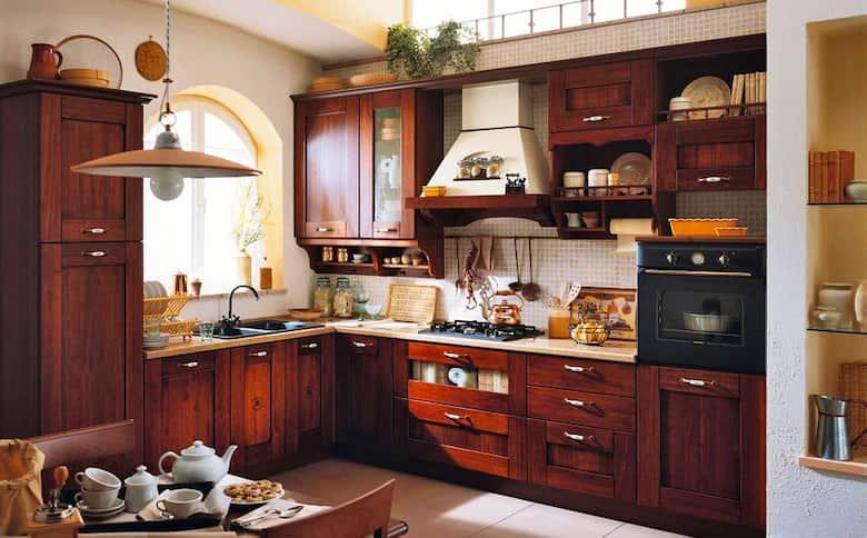 مطبخ ايطالي صغير