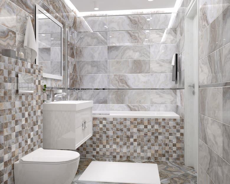 حمامات رخام صغيرة